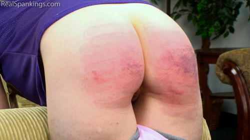 14090 014 m - realspankingsnetwork -Full HD/MP4 - Anne Spanked with the Belt