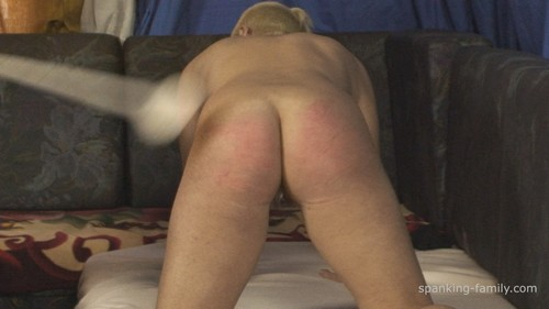 spanking-family – HD/MP4 – Episode: 0819. Tina`s Spanking, Rectal Temperature and Suppository