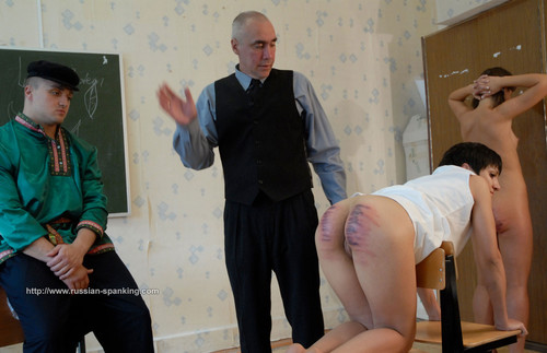 rs66b 16 m - russian-spanking - MP4/SD - RS66b Private School for Russian Girls part 2