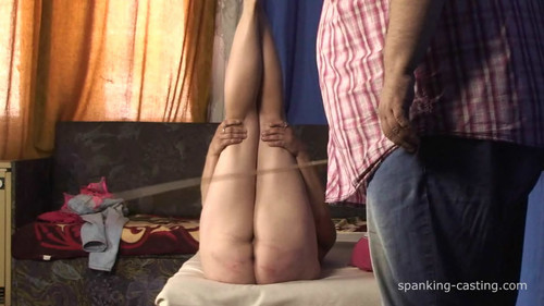 spanking-casting – MP4/HD – (CAS-437)  Vicky – 25 Strokes with Cane and Horsewhip