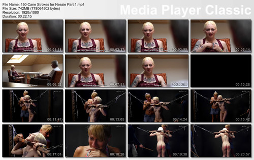 thumbs20171126121228 m - graias - MP4/Full HD - 150 Cane Strokes for Nessie Part 1