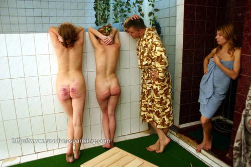 dir10 07 m - russian-spanking – MP4/SD – DIR10 Spanked in the Bath-house