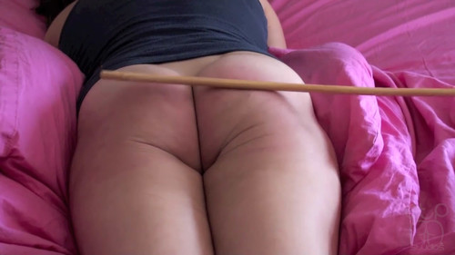 snapshot20171201101401 m - assumethepositionstudios – MP4/HD – Casey's Bare Bottom Caning - BROKEN CANE