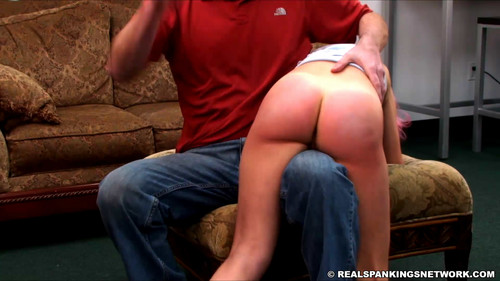 realspankingsnetwork – MP4/Full HD – Kiki J is Spanked for Staying Up Too Late