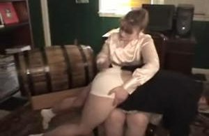 th 025481891 snapshot20171223183301 123 342lo 300x195 - firmhandspanking – MP4/HD – Helen Stephens - Reform Academy CJ/Belinda and Helen stripped naked and strapped, one held on tiptoe by the other