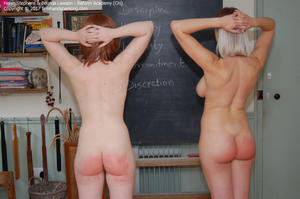 th 326947446 academy ch024 123 132lo - firmhandspanking - MP4/HD - Belinda Lawson - Reform Academy CH/Nude paddling: Helen Stephens and Belinda Lawson spanked to the limit