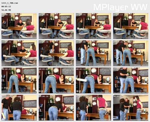 1223 1 700 Preview m - bispanking – RM/SD – Kailee & Jasmine Fight (Part 1)
