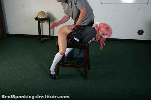 14383 025 m - realspankingsinstitute – MP4/Full HD – Kiki's Trouble with The Dean (Part 1 of 2)
