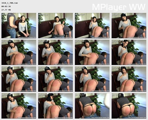 3428 1 700 Preview m - otk-spankings –  Isabel - RM/SD – OTK Spanking
