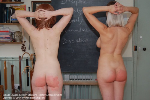 firmhandspanking – MP4/HD – Belinda Lawson – Reform Academy CKD/The heat is turned up for Belinda and Helen as they're strapped totally nude!