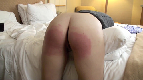 snapshot20180114223050 m - MP4/HD - Christy Spanked with the Razor Strap