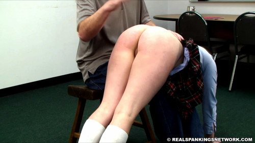 snapshot20180121131603 m - realspankingsnetwork – MP4/Full HD – Hailey is Punished by The Dean