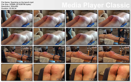 thumbs20180107115413 m - MP4/SD - Spanking on the bench