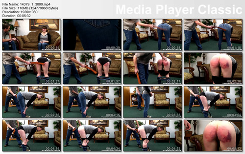 thumbs20180117191604 m - realspankingsnetwork - MP4/Full HD - Hailey Spanked with the Belt