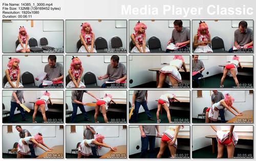thumbs20180121132004 m - realspankingsnetwork – MP4/Full HD – Cheerleader Punishment Kiki J