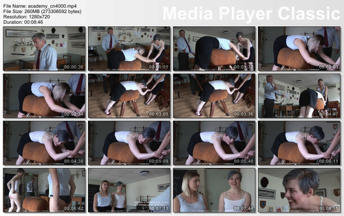 thumbs20180121132228 m - firmhandspanking - MP4/HD - Belinda Lawson - Reform Academy CN/Two stunning government employees get their bottoms burned!