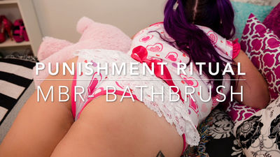 assumethepositionstudios – MP4/HD – THE MASTER,DANI – PUNISHMENT RITUAL – BATH BRUSH BEATING