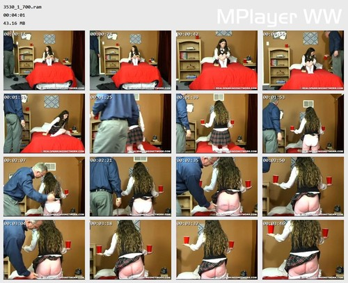 3530 1 700 Preview m - spankingbailey – RM/SD – Bailey Receives Some Extra Discipline for Her Messy Dorm