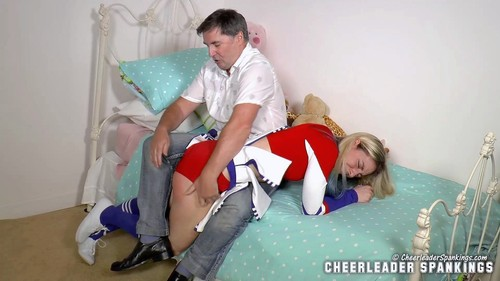 CLS 210 034 m - cheerleaderspankings – MP4/Full HD – Lily's Double Discipline