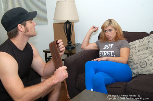 firmhandspanking – MP4/HD – Lyra Bryant – Fitness Fanatic B