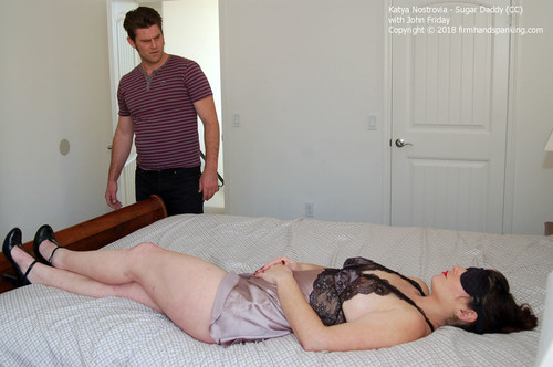 sugar cc001 m - firmhandspanking - MP4/HD - Katya Nostrovia - Sugar Daddy CC/Katya Nostrovia feels a belt across her bare bottom after stepping over the line!