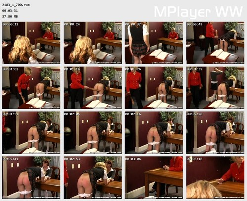 2183 1 700 Preview m - otk-spankings – RM/SD – Isabel Is Caught Smoking
