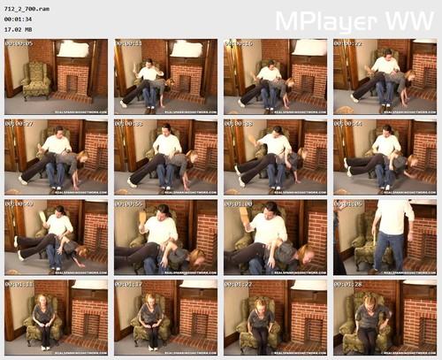 712 2 700 Preview m - spankingteenjessica – RM/SD – OTK Paddling & Strapping (Part 1)