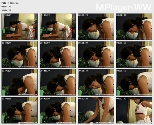 7312 2 700 Preview m - realstrappings – RM/SD – Claire Wakes Up to a Spanking