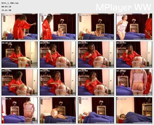 8511 1 700 Preview m - otk-spankings – RM/SD – Claire's Bathbrush Spanking