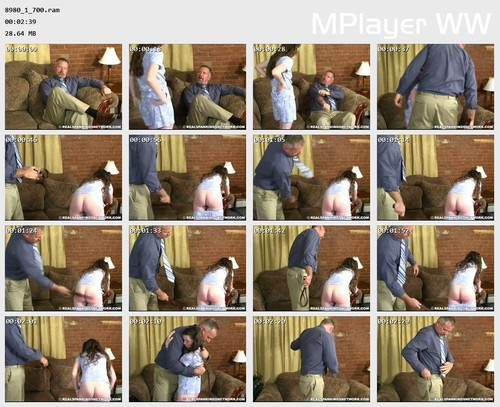 8980 1 700 Preview m - spankingbailey – RM/SD – Bailey Spanked For Disrespectful Behavior - Part 2 of 2