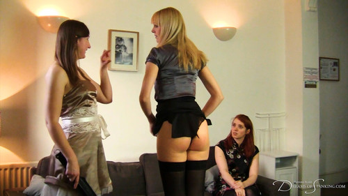 Dreams of Spanking rep045 m - dreamsofspanking – Amelia Jane Rutherford, Caroline Grey, Pandora Blake - The Spanking Rep