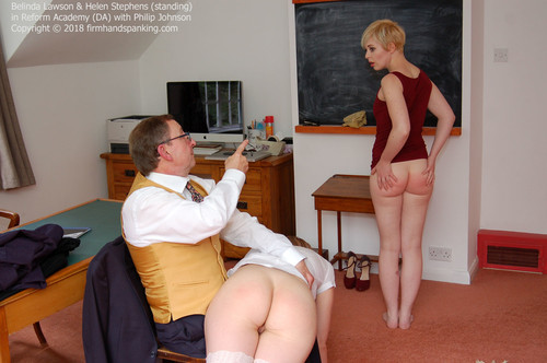academy da016 m - firmhandspanking – MP4/HD – Belinda Lawson - Reform Academy DA/Belinda Lawson is back at Reform Academy for more bottom-quivering spankings