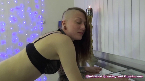 snapshot20180407224720 m - universalspankingandpunishments - MP4/Full HD - The Punk and Her Pain