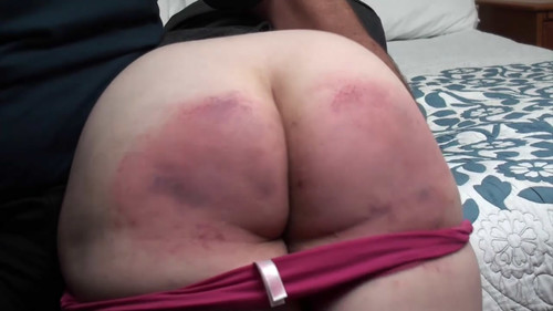 snapshot20180413190417 m - assumethepositionstudios – MP4/HD – THE MASTER,TRIXIE - A SPANKING TO REMEMBER - BELT AND PADDLE FOR TRIXIE DAY 2