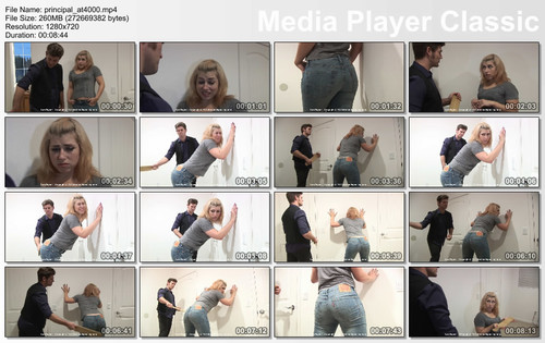thumbs20180412124149 m - firmhandspanking - MP4/HD - Lyra Bryant - Principals Office AT/Lyra Bryant reports to The Principal's Office for a paddling to remember