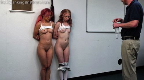 realspankingsinstitute – MP4/Full HD – Kiki and Alice Spanked Together ( Part 1 of 4)