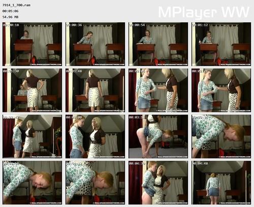 7914 1 700 Preview m - spankingteenjessica – RM/SD – Jessica's Classroom Spanking