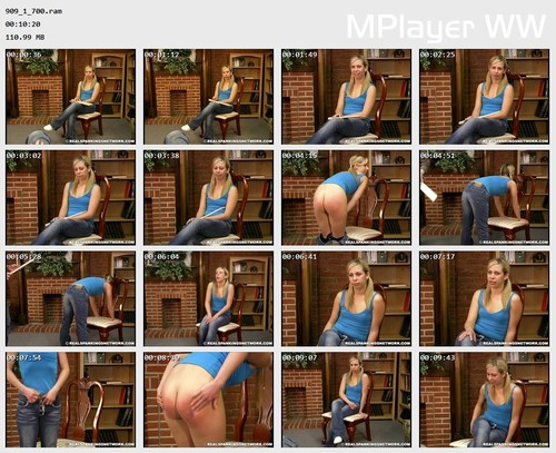 909 1 700 Preview m - bispanking – RM/SD – Chloe's School Paddling