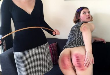 Dreams of Spanking caned at home039 m 380x260 - dreamsofspanking – MP4/Full HD – Pandora Blake, Tai Crimson - Caned at Home [hard punishment, humiliation, interview]