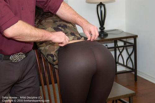 firmhandspanking – MP4/HD – Delta Howser – Artist Discipline C/A bare-ass belting for artist Delta Howser as she discovers the price of inactivity