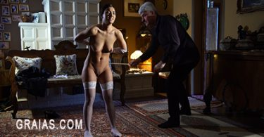 kep2k 375x195 - firmhandspanking – MP4/HD – Lilian White - Asking For It GE/Lilian White feels the full burn of 14 with a wooden paddle across her bottom