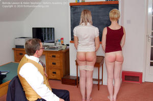 th 620718886 academy dc002 123 180lo - firmhandspanking – MP4/HD – Belinda Lawson - Reform Academy DC/Even the smallest offence earns a spanking: Belinda Lawson learns obedience!