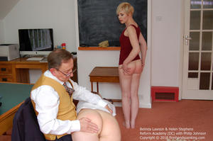 th 620721357 academy dc024 123 582lo - firmhandspanking – MP4/HD – Belinda Lawson - Reform Academy DC/Even the smallest offence earns a spanking: Belinda Lawson learns obedience!
