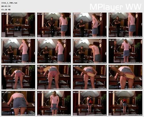 1516 1 700 Preview m - spankingteenjessica – RM/SD – Jessica Spanked for Short Skirt