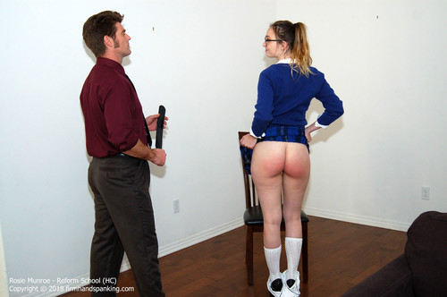 reform hc003 m - firmhandspanking – MP4/HD – Rosie Munroe - Reform School HC/Bare bottom strapped for aggressive behavior: Rosie Munroe feels the burn |  Jun 29, 2018