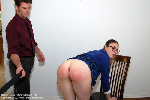 reform hc013 m - firmhandspanking – MP4/HD – Rosie Munroe - Reform School HC/Bare bottom strapped for aggressive behavior: Rosie Munroe feels the burn |  Jun 29, 2018