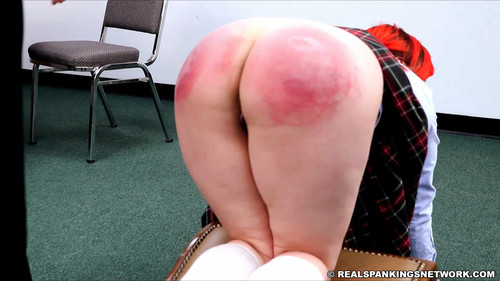 snapshot20180627135905 m - realspankingsnetwork – MP4/Full HD – Mila Strapped and Paddled