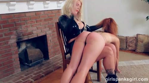 snapshot20180630100656 m - girlspanksgirl – MP4/Full HD – Maddy Marks, Bella Bathory - Punishing the Spy