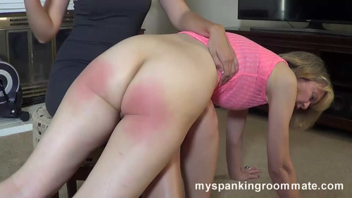 snapshot20180630101335 m - myspankingroommate – MP4/Full HD – Clare Fonda, Kira - Episode 272: Clare Spanks Her Roommate Kira