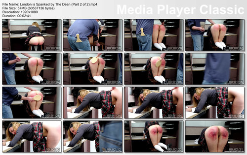 thumbs20180606105046 m - realspankingsinstitute – MP4/Full HD – London is Spanked by The Dean (Part 2 of 2)